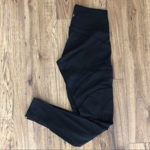 Lululemon Wunder Under Luxtreme w/ Mesh Tights